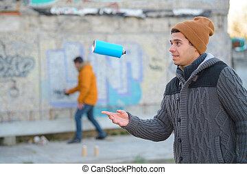 δράση , graffiti αριστοτέχνης