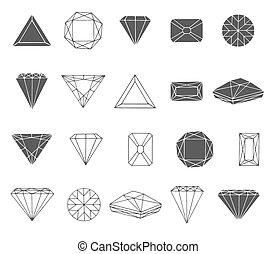 δραμάτιο , διαμάντι , εικόνα , χέρι , μικροβιοφορέας , φόντο , μετοχή του draw , άσπρο , εικόνα