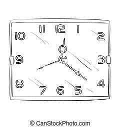 δραμάτιο , μικροβιοφορέας , ρολόι