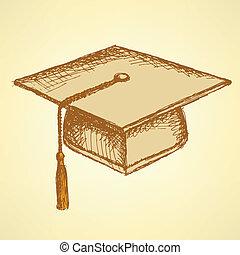 δραμάτιο , σκούφοs , αποφοίτηση