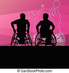 δραστήριος , ανάπηρος , άντρεs , νέος