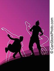 δραστήριος , χορευτής , νέος , μικροβιοφορέας
