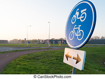 δρομάκι , ποδήλατο , σήμα