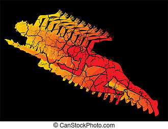 δρομέας , ταχύτητα , γραμμή , μικροβιοφορέας , τέχνη