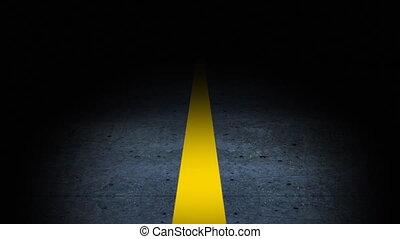 δρόμος , αναμμένος αίτημα