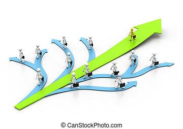 δρόμος , διευθύνω , επιτυχία