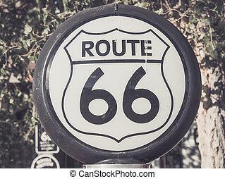 δρόμος 66 , σήμα