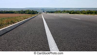 δρόμοs , άσφαλτος , οδηγώ ανεξίτηλο