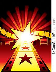 δρόμοs , αστέρας του κινηματογράφου