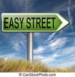 δρόμοs , εύκολος