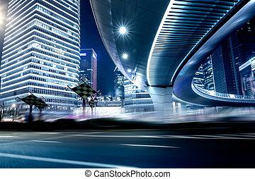 δρόμοs , και , αστικός , φόντο