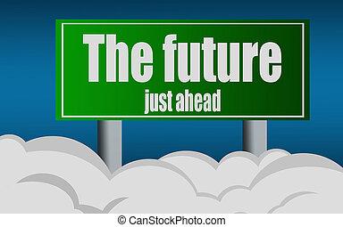 δρόμοs , σύμβολο , σήμα , μέλλον , βγαίνω , λέξη , εθνική οδόs