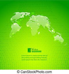 δυάδικος κώδικας , χάρτηs , αφαιρώ , φόντο , κόσμοs