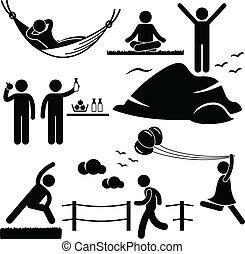 δυναμωτικός δραστήριος , τρόπος ζωής , wellness