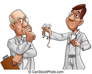 δυο , επιστήμονες