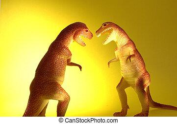δυο , t-rex