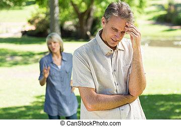 δυσκολίες , ζευγάρι , αντιμέτωπος , σχέση
