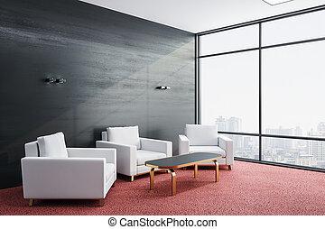 δωμάτιο , έδρα , σύγχρονος , τρία , αναμονή