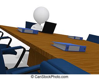 δωμάτιο , ακολουθία αγγίζω , αναμονή , επιχειρηματίας , εταιρικός , 3d