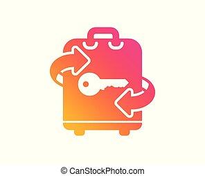 δωμάτιο , αποσκευέs , αναχωρώ. , αποσκευές αποθήκη , μικροβιοφορέας , icon.