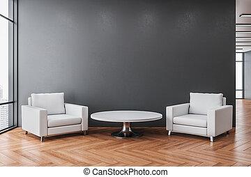 δωμάτιο , εσωτερικός , έδρα , αναπαυτικός , δυο , αναμονή