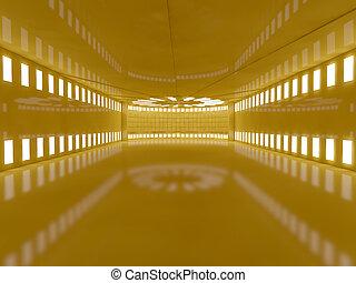 δωμάτιο , κίτρινο , εσωτερικός , lamps., αδειάζω , 3d