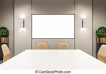 δωμάτιο , κενό , συνάντηση , αφίσα