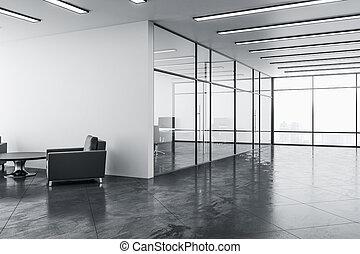 δωμάτιο , σύγχρονος , έδρα , δυο , αναμονή
