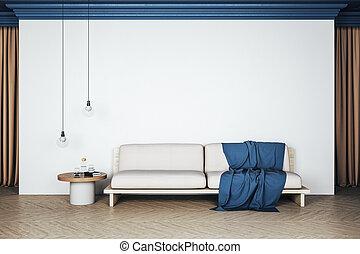 δωμάτιο , σύγχρονος , εσωτερικός , ζούμε , καναπέs