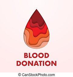 δωρεά , αφίσα , αίμα