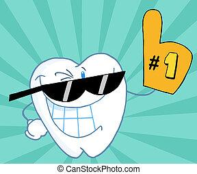 δόντι , αριθμητική 1