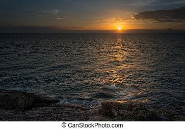 δύση θαλασσογραφία