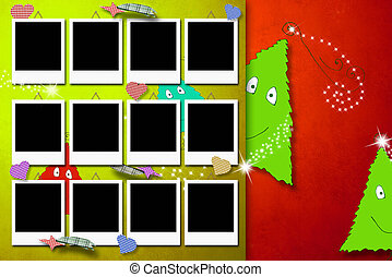 δώδεκα , φωτογραφία , χαιρετισμός , αποτελώ το πλαίσιο , χριστουγεννιάτικη κάρτα