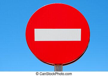είσοδοs , όχι , σήμα κυκλοφορίας