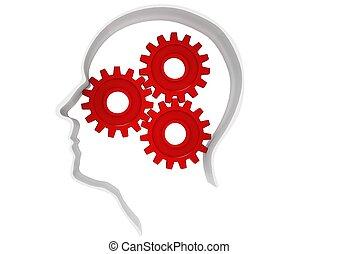εγκέφαλοs , εργαζόμενος