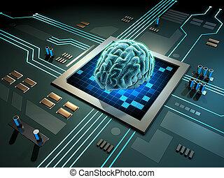 εγκέφαλοs , ψηφιακός