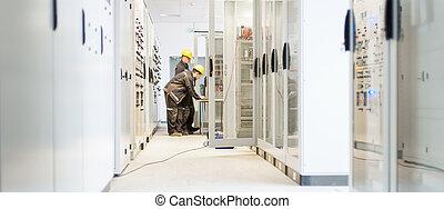 εγκατάσταση , υπηρεσία , δοκιμή , σύστημα , όμιλος , πεδίο , ηλεκτρικός , ελέγχω , επιστήμη των ηλεκτρονίων , ή