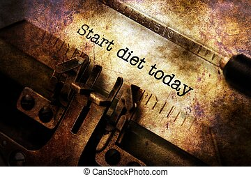 εδάφιο , γραφομηχανή , σήμερα , δίαιτα , αρχή