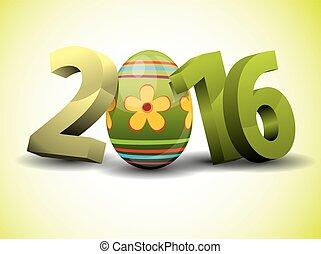 εδάφιο , - , 3d , 2016, αυγό , πόσχα