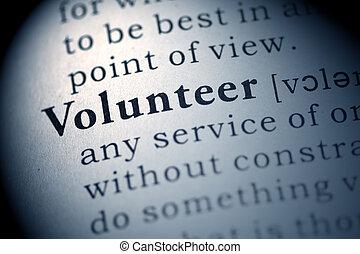 εθελοντής