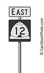 εθνική οδόs , δρόμοs , utah αναστάτωση , σήμα