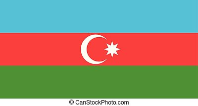 εθνική σημαία , αζερμπαϊτζάν