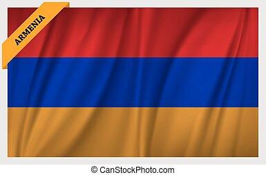 εθνική σημαία , αρμενία