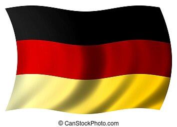 εθνική σημαία , γερμανία