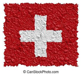 εθνική σημαία , ελβετία