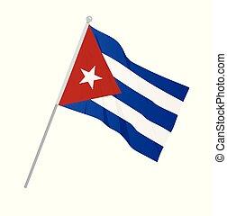 εθνική σημαία , κούβα