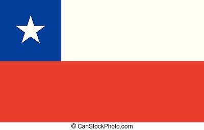 εθνική σημαία , χιλή
