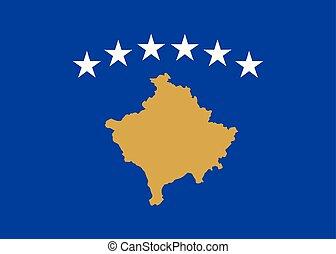 εθνική σημαία , kosovo