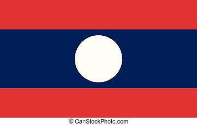εθνική σημαία , laos