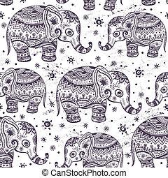 εθνικός , ελέφαντας , seamless